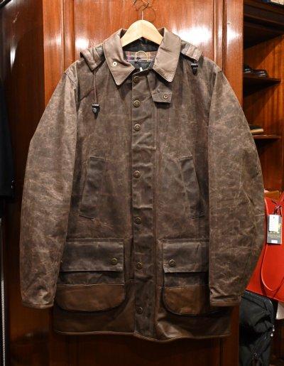 画像1: 新品 Barbour×adidas バブアー×アディダス Adiwick jacket (Brown/L) 海外限定 未使用品