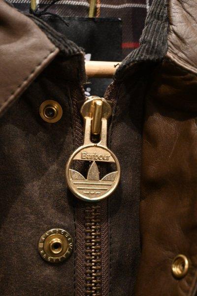 画像3: 新品 Barbour×adidas バブアー×アディダス Adiwick jacket (Brown/L) 海外限定 未使用品