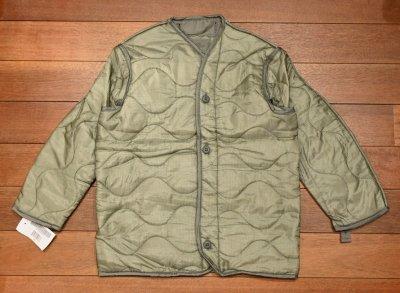 画像1: '04 Deadstock M65 フィールドジャケットのライナー (X-SMALL) 米軍 M65 デッドストック 未使用品