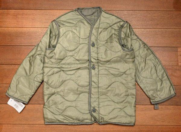 画像1: '04 Deadstock M65 フィールドジャケットのライナー (X-SMALL) 米軍 M65 デッドストック 未使用品 (1)