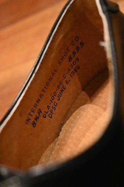 画像3: 86年製 デッドストック U.S NAVY INTERNATIONAL SHOE CO.社製 サービスシューズ 【8 1/2-R】箱入り