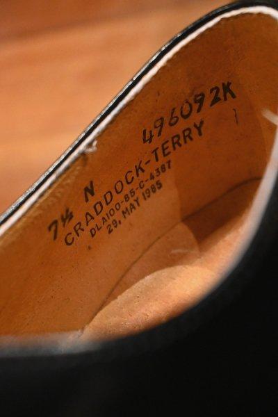 画像3: 85年製 デッドストック U.S NAVY CRADDOCK-TERRY 社製 サービスシューズ 【7 1/2-N】箱入り