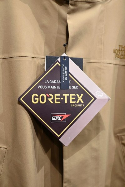 画像3:  The North Face Transverse GTX Coat ノースフェイス ゴアテックス フーデッドコート (Beige/L) 新品 日本未発売
