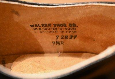 画像2: (EXCELLENT USED) 89年製 U.S NAVY WALKER SHOE CO. 社製 サービスシューズ 【9 1/2-R】中古