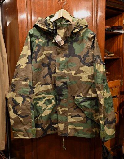 画像1: '02 Deadstock U.S.ARMY ECWCS GEN1 ゴアテックスパーカー デッドストック(M-Regular) ウッドランドカモ
