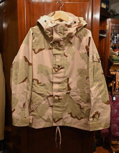 画像1: '02 Deadstock U.S.ARMY ECWCS GEN1 ゴアテックスパーカー デッドストック(M-Short) デザートカモ