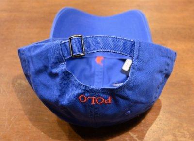 画像3: 【クリックポスト198円も可】ポロラルフローレン コットン ポニー刺繍 キャップ【BLUE】新品 並行輸入