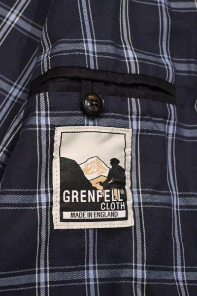 画像3: GRENFELL(グレンフェル) GOLFER ブルゾン グレンフェルクロス (Navy/42) ゴルファー タグ付き新品