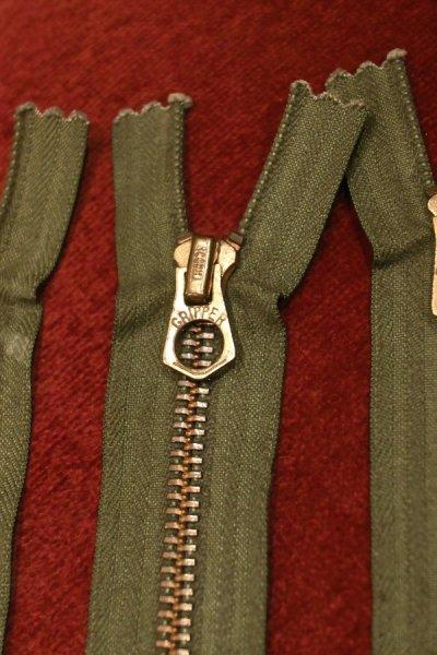 画像2: 【クリックポスト198円も可】60s Deadstock SCOVILL GRIPPER BRASS ZIP スコービル グリッパー ジップ 真鍮 US ARMY (20cm)デッドストック
