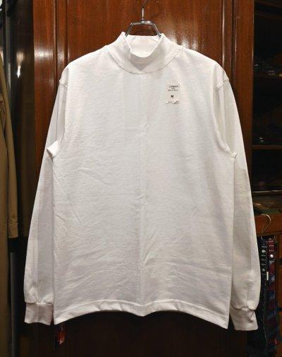 画像1: CAMBER 306 MAX-WEIGHT MOCK NECK キャンバー マックスウェイト モックネックTシャツ (White/M,L,XL) アメリカ製