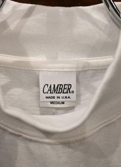 画像3: CAMBER 306 MAX-WEIGHT MOCK NECK キャンバー マックスウェイト モックネックTシャツ (White/M,L,XL) アメリカ製