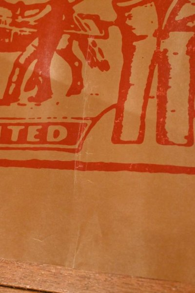 画像3: 70s Levi's リーバイス ポスター (パッチ) 559×737mm ビンテージ USED 中古