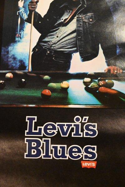画像3: 80s Levi's リーバイス ポスター (ビリヤード) 730×490mm ビンテージ USED 中古