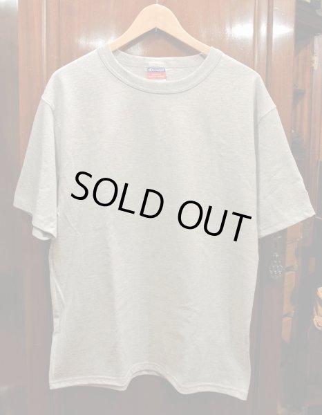 画像1: 【クリックポスト198円も可】Champion チャンピオン 7oz ヘリテージジャージーTシャツ(GRAY/ M,L) アメリカ流通 新品 (1)