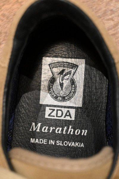 画像2: (USED)ZDA ゼットディーエー Marathon クレープソール スウェード スニーカー(BEIGE/41)スロバキア製 中古