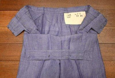 画像3: 1960年 デッドストック フランス海軍 ラミーセーラーパンツ (BLUE/W84cm) Deadstock French Navy Sailor Pants A