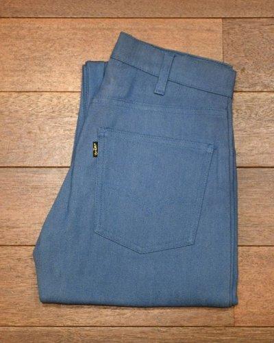 画像1: 60s デッドストック LEVI'S リーバイス612 STRETCH DENIM ビッグE (BLUE W30 L30)  黒金タブ