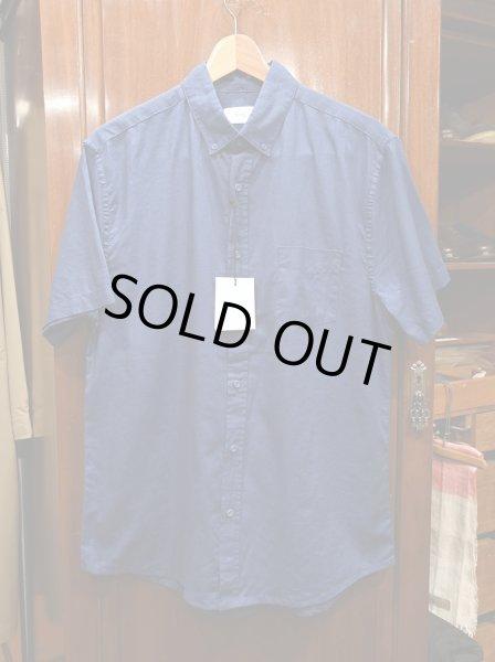 画像1: 【クリックポスト198円も可】新品 Onia(オニア) リネン+コットン 半袖 B.Dシャツ(Navy/M) 定価$120 並行輸入  (1)