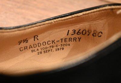 画像2: 79年製 デッドストック U.S NAVY CRADDOCK TERRY社製 レザーソール サービスシューズ 【9 1/2-R】